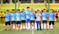 Kết thúc Giải bóng chuyền hơi tỉnh Cao Bằng năm 2018
