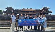 Đoàn Famtrip Nhật Bản khảo sát các tuyến điểm du lịch Huế