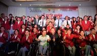 Lễ xuất quân Đoàn Thể thao người khuyết tật Việt Nam tham dự Asian Para Games 3