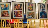 """Trao giải Cuộc thi vẽ tranh quốc tế """"Em vẽ Việt Nam - Em vẽ nước Nga"""""""