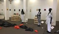 Nghệ sĩ Úc và học sinh Việt Nam cùng sáng tạo nghệ thuật từ rác thải