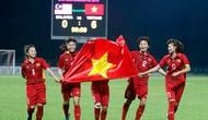 Đội tuyển nữ Việt Nam tăng 1 bậc trên bảng xếp hạng FIFA
