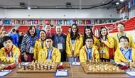 Trường Sơn giành Huy chương Vàng tại giải cờ vua đồng đội thế giới 2018