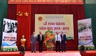 Trường Đại học Thể dục Thể thao Bắc Ninh khai giảng năm học mới 2018 – 2019