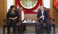 Thứ trưởng Lê Khánh Hải tiếp Đoàn Đại biểu  Đảng Cộng sản Cu Ba