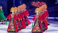 Các nghệ sĩ Nhà hát Múa quốc gia Moscow biểu diễn tại Hà Nội