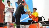 Đoàn Thể thao người khuyết tật Việt Nam tạm xếp thứ 12 trên bảng tổng sắp huy chương