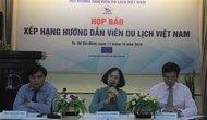 """Họp báo giới thiệu chương trình """"Xếp hạng hướng dẫn viên(HDV) du lịch Việt Nam""""."""