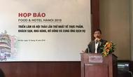 Lần đầu tiên Triển lãm quốc tế về thực phẩm và nhà hàng khách sạn được tổ chức tại Hà Nội