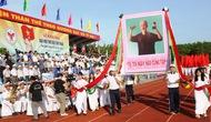 Khai mạc Đại hội Thể dục thể thao tỉnh Bình Thuận năm 2018