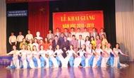 Trường Cao đẳng Văn hóa Nghệ thuật Việt Bắc khai giảng năm học mới 2018 - 2019