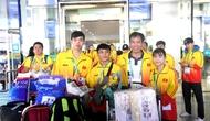 Kết thúc hành trình Olympic trẻ lần thứ 3, Đoàn Thể thao Việt Nam về nước trong tự hào