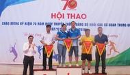 Đảng ủy Bộ VHTTDL giành giải cao tại Hội thao Đảng bộ Khối các cơ quan Trung ương