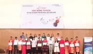 """Lễ trao """"Học bổng Toyota hỗ trợ tài năng trẻ âm nhạc Việt Nam năm 2018"""""""