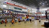 Bắc Giang: Tập huấn và thi đấu giải Bóng chuyền hơi trung cao tuổi toàn quốc lần thứ V năm 2018