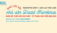 Giao lưu với nhà văn David Foenkinos tại Thành phố Hồ Chí Minh