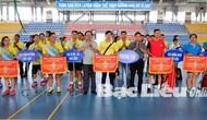 Tổ chức Giải cầu lông tỉnh Bạc Liêu mở rộng năm 2018