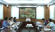 Thứ trưởng Lê Khánh Hải làm việc với Cục Nghệ thuật biểu diễn