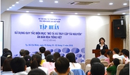 Thư viện QGVN: Tập huấn sử dụng Quy tắc biên mục Mô tả và truy cập tài nguyên - Ấn bản RDA tiếng Việt khu vực miền Nam