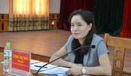 Thứ trưởng Trịnh Thị Thủy làm việc với lãnh đạo Sở Văn hóa, Thể thao và Du lịch Lạng Sơn về công tác cải cách hành chính