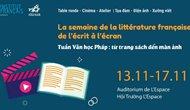 Tuần Văn học Pháp: Từ trang sách đến màn ảnh