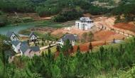 UBND tỉnh Lâm Đồng yêu cầu xử lý nghiêm hành vi vi phạm về xây dựng tại Khu du lịch quốc gia hồ Tuyền Lâm