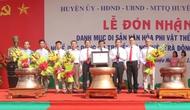 Thanh Hóa: Đón nhận danh hiệudi sản văn hóa phi vật thể quốc gia nghề đúc đồng cổ truyền làng Chè