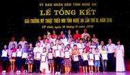 Trao Giải thưởng Mỹ thuật thiếu nhi tỉnh Nghệ An lần thứ 3