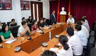 Thứ trưởng Lê Khánh Hải làm việc với Trung tâm Công nghệ Thông tin, Báo điện tử Tổ Quốc