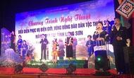 Chương trình biểu diễn phục vụ vùng biên giới và vùng đồng bào dân tộc thiểu số tại Lạng Sơn