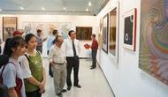 Trưng bày các tác phẩm nghệ thuật tạo hình của 7 nước khu vực Thái Bình Dương
