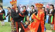 """Giới thiệu điệu nhảy """"Vũ điệu hành quang"""" trong Lễ cấp sắc của dân tộc Sán Dìu"""