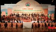 Khai mạc Liên hoan Diễn xướng dân gian văn hóa các dân tộc khu vực Trường Sơn - Tây Nguyên lần thứ II