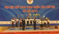 Đại hội Thể thao toàn quốc lần thứ VIII: Hà Nội về nhất toàn đoàn môn Aerobic