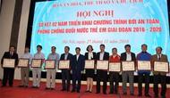 Hội nghị sơ kết 2 năm triển khai Chương trình bơi an toàn, phòng chống đuối nước trẻ em giai đoạn 2016-2020