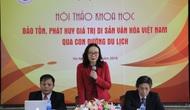 Bảo tồn, phát huy giá trị của di sản văn hóa Việt Nam qua con đường du lịch