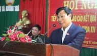 Bộ trưởng Nguyễn Ngọc Thiện tiếp xúc cử tri TX. Hương Trà