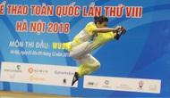Đại hội Thể thao toàn quốc lần thứ VIII: Hà Nội giành 3 Huy chương Vàng trong ngày thi đấu đầu tiên môn Wushu