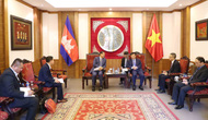 Bộ trưởng Nguyễn Ngọc Thiện tiếp Bộ trưởng Du lịch Campuchia