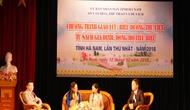 Lần đầu tiên Hà Nam tổ chức chương trình Giao lưu, biểu dương thư viện, tủ sách gia đình, dòng họ