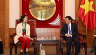 Bộ trưởng Nguyễn Ngọc Thiện tiếp Đại sứ Du lịch Việt Nam tại Pháp
