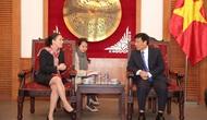 Bộ trưởng Nguyễn Ngọc Thiện tiếp tân Đại sứ đặc mệnh toàn quyền Uruguay