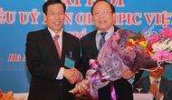 Bộ trưởng Nguyễn Ngọc Thiện được bầu làm Chủ tịch Ủy ban Olympic Việt Nam khóa V