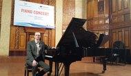 Giáo sư Staffan Sandstrom, Thụy Điển lên lớp master tại Học viện Âm nhạc Quốc gia Việt Nam