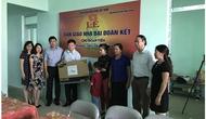 Công đoàn Bộ VHTTDL hỗ trợ, giúp đỡ đoàn viên công đoàn có hoàn cảnh khó khăn tại Lai Châu, Điện Biên