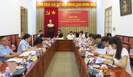 Khối nghiên cứu, xuất bản và báo chí Bộ VHTTDL giao ban công tác Đảng 6 tháng đầu năm 2017