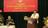 Đại hội Chi hội Cựu chiến binh Nhà hát Kịch Việt Nam nhiệm kỳ 2017-2022