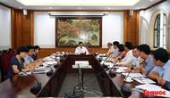Bộ trưởng Nguyễn Ngọc Thiện làm việc với Tổng cục TDTT về dự thảo sửa đổi, bổ sung Luật TDTT và Đề án Đại hội TDTT toàn quốc lần thứ VIII