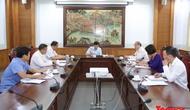 Bộ trưởng Nguyễn Ngọc Thiện làm việc với Tổng cục TDTT