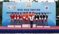 Hà Tĩnh giành 2 huy chương tại Giải Đua thuyền Rowing vô địch và vô địch trẻ Đông Nam Á năm 2017